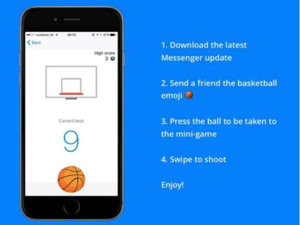 Geliştiriciler Facebook Messenger için oyun geliştiriyorlar.