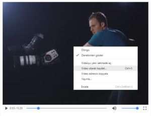 Facebook video indirme işlemi eklenti kullanmadan nasıl yapılır?