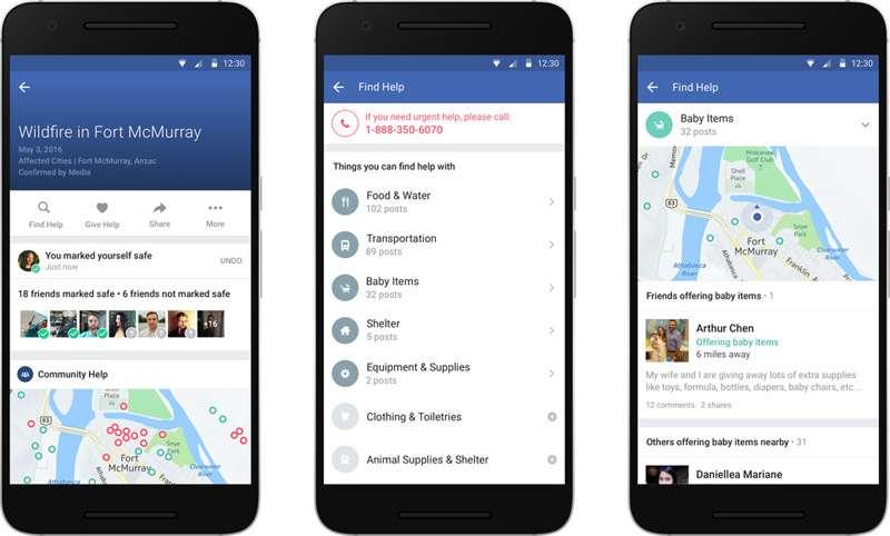 Facebook Güvende misin? özelliğini artık kullanıcılar tetikleyecek.