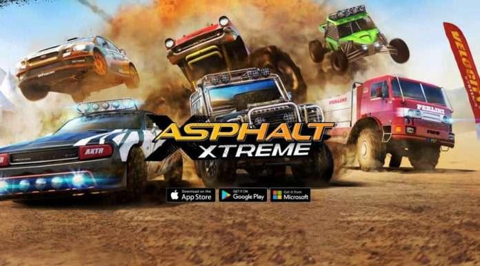 Artık tüm platformlarda Asphalt Xtreme oynayabileceksiniz.