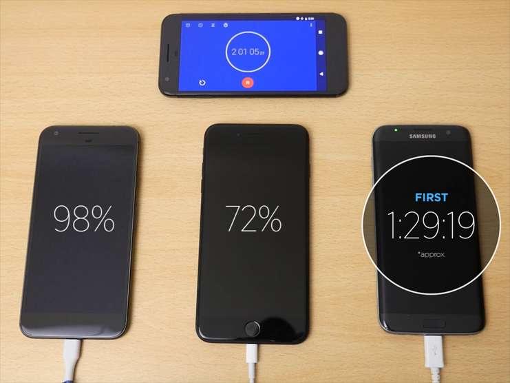 Google Pixel ile iPhone telefon karşılaştırması, aradaki farklar.