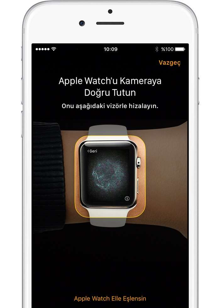 Apple Watch'unuzu ilk olarak iPhone'unuzla eşzamanlamalısınız