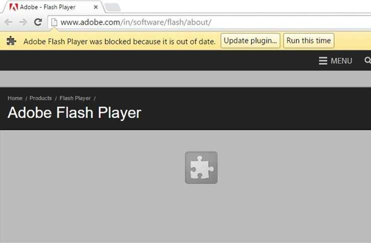 Microsoft ve Google, tarayıcılarında Adobe Flash'ı devre dışı bırakacaklar