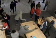 Apple Store 4 gün arayla iki sefer hırsızlar tarafından soyuldu