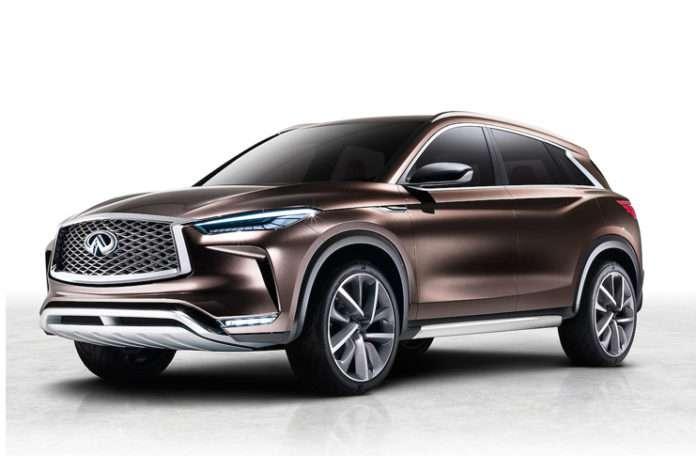 Infiniti, geleceğin Lüks SUV vizyonu yeni QX50 konseptini açıkladı