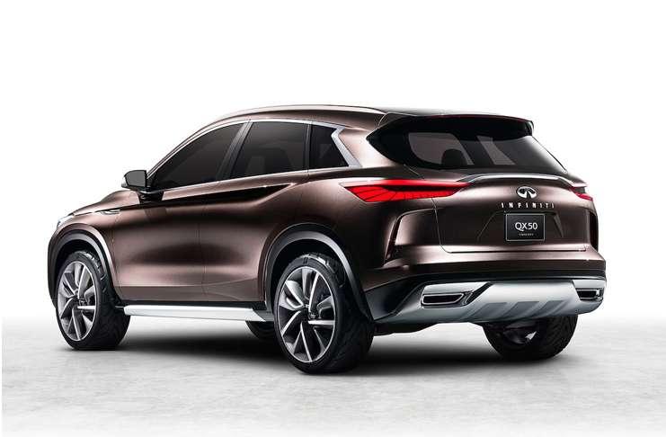 Infiniti, geleceğin Lüx SUV vizyonu yeni QX50 konseptini açıkladı