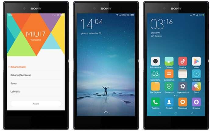 Sony Xperia'lar için Android Nougat 7.0 güncellemesi çıktı