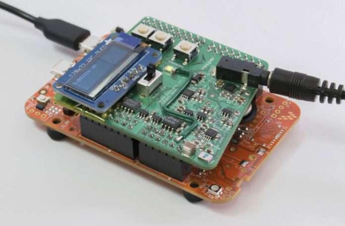 Vesper VM1010, su altında çalışabilen az enerji tüketen mikrofon