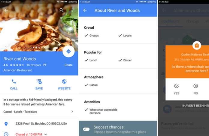 Google Haritalardan engellilere müjdeli bir güncelleme