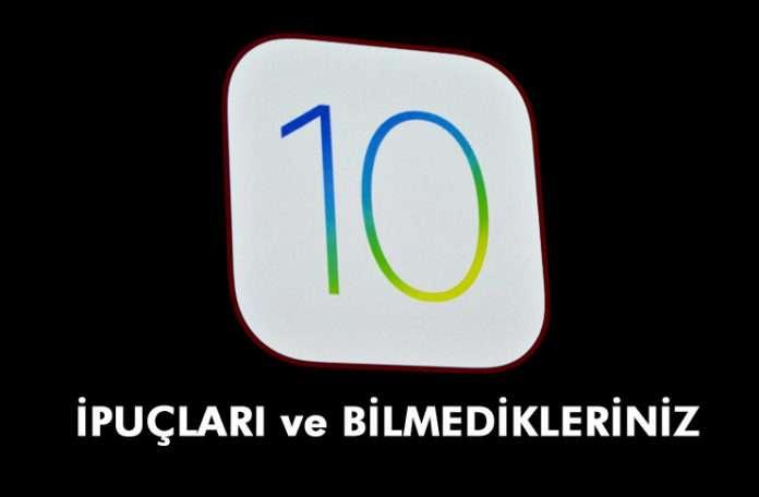 iOS 10'da gizli olan harika yeni özelliklerin bir kısmını ortaya çıkarın