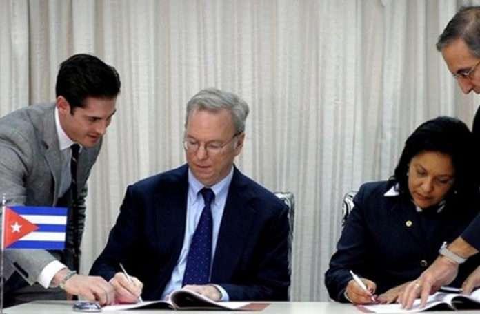 Bu anlaşma, Küba'nın Google ağına daha hızlı erişmesini sağlayacak