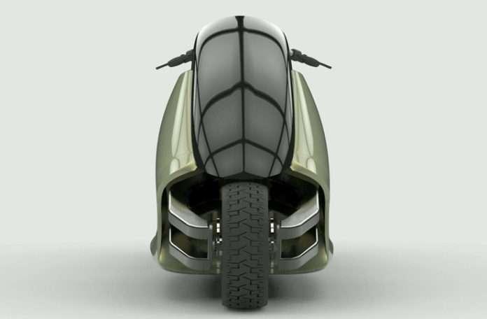 GyroCycle Kendi kendini dengede tutabilen bir motosiklet