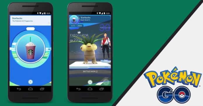 Pokemon Go oyunu ile Starbucks yeni bir ortaklık kuruyor