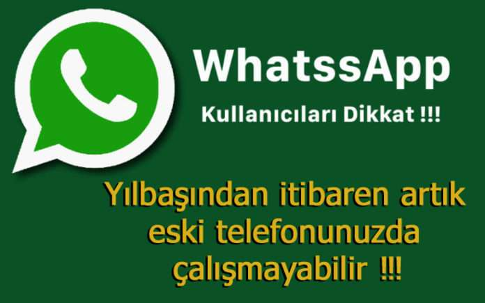 WhatsApp ay sonunda milyonlarca eski telefonda çalışmayı durduracak