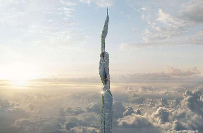 Hava kirliğini temizleyen 5 km'lik gökdelen projesi açıklandı