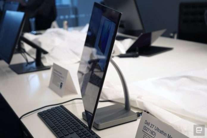 Dell 27 inç'lik ultra-ince monitörü