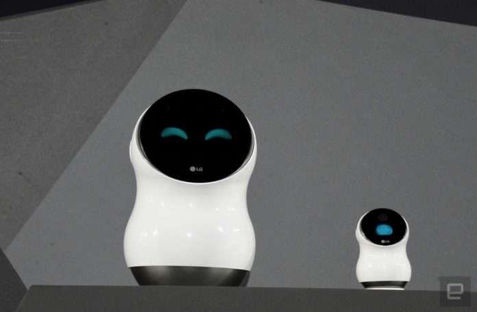 Hub Robot'unun ve mini ölçülerdeki eşininin tanıtımı