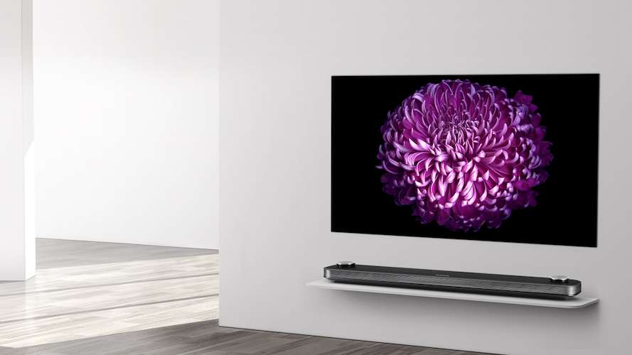 LG Signature OLED TV W 4K sadece 2.6mm incelikte