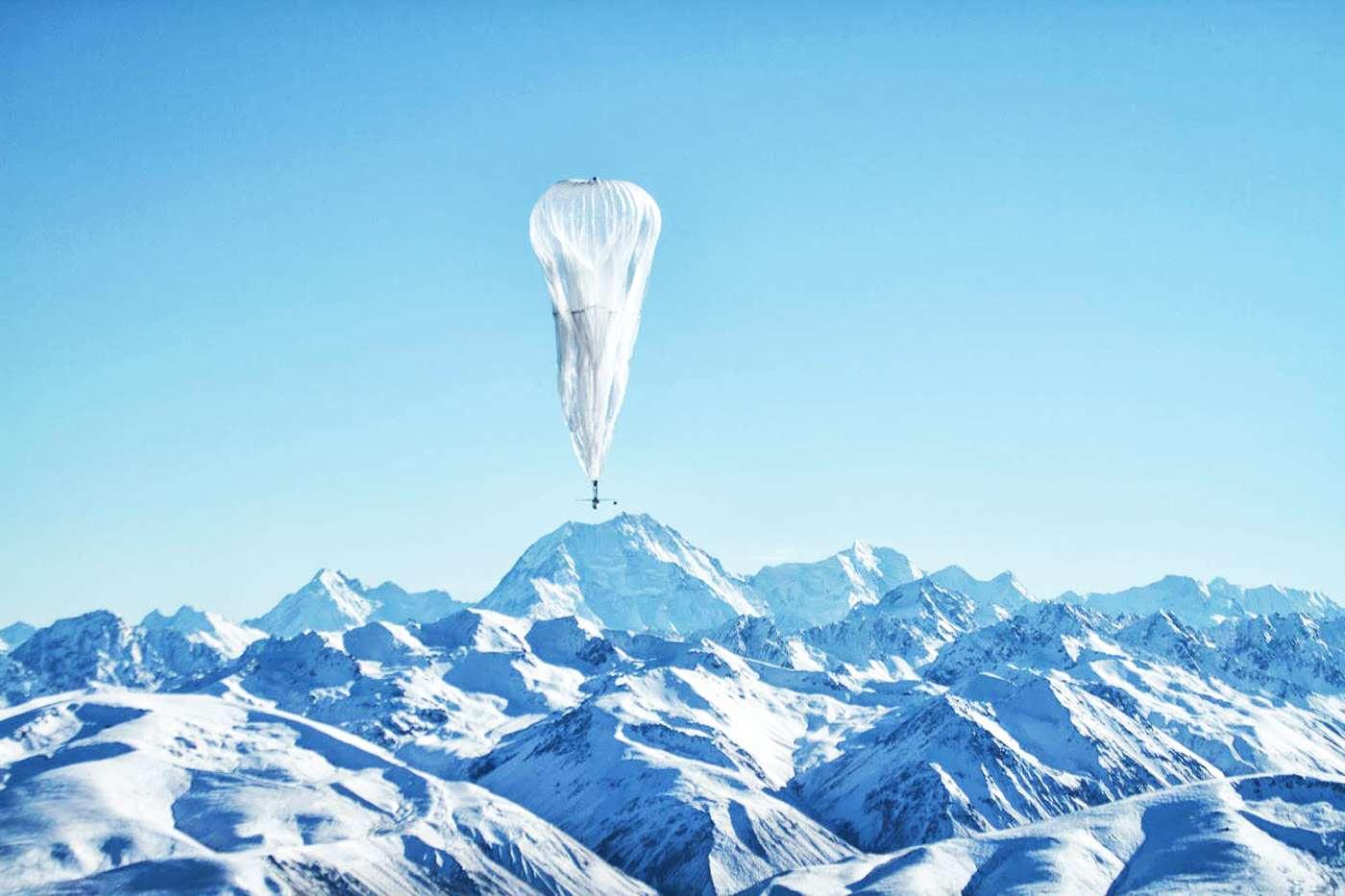Proje Loon, balon tabanlı internet erişimi