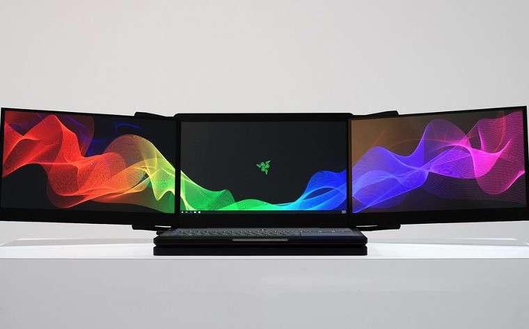 Razer, Valerie adında üç ekranlı dizüstü bilgisayarını duyurdu