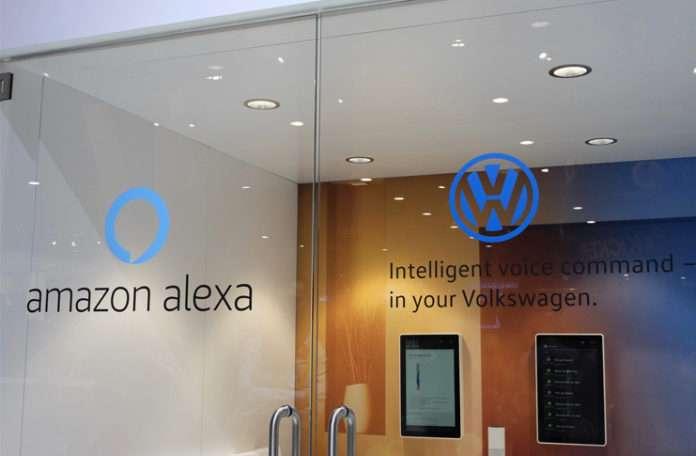 Car-Net yazılımına sahip bütün Volkswagen araçlar Alexa'yı kullanabilecek