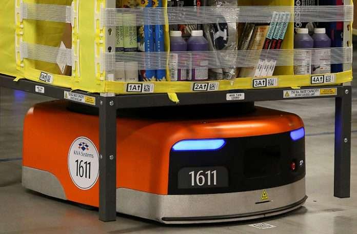Online alışveriş devi Amazon, 45.000 Kiva robotu daha aldı