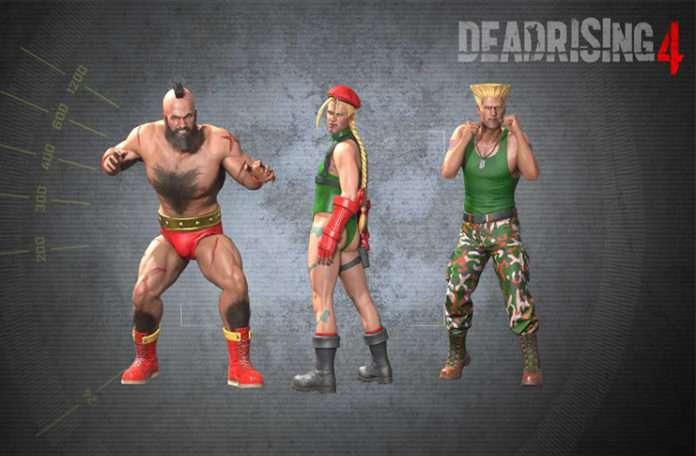 Dead Rising 4'ü Cammy, Zangief ya da Guile'la oynamak istiyorsanız artık bu mümkün