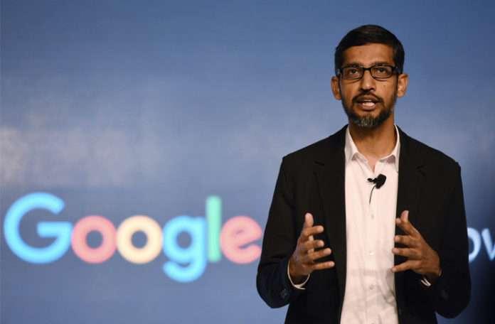 Google'ın CEO'su Sundar Pichai, çalışanların Amerika'ya acilen geri gelmelerini istedi