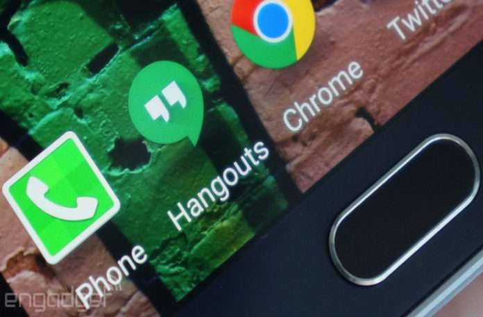Google Hangouts'a dayalı olarak çalışan uygulamalar devredışı