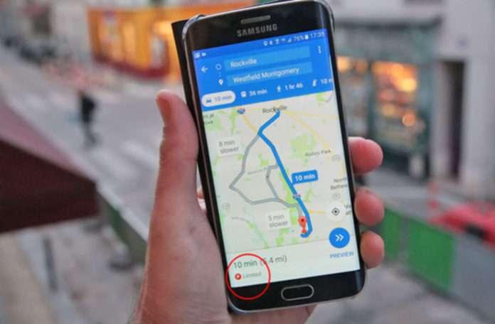 Google Haritalar yakında park yeri seçenekleri sunabilir