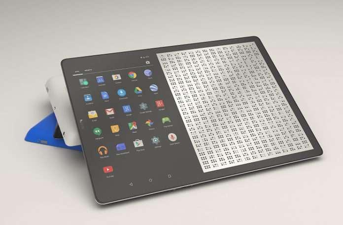Görme engelliler artık Tablet kullanabilecekler
