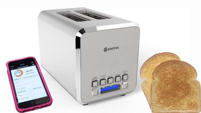 Griffin Connected Toaster, akıllı ekmek kızartıcı
