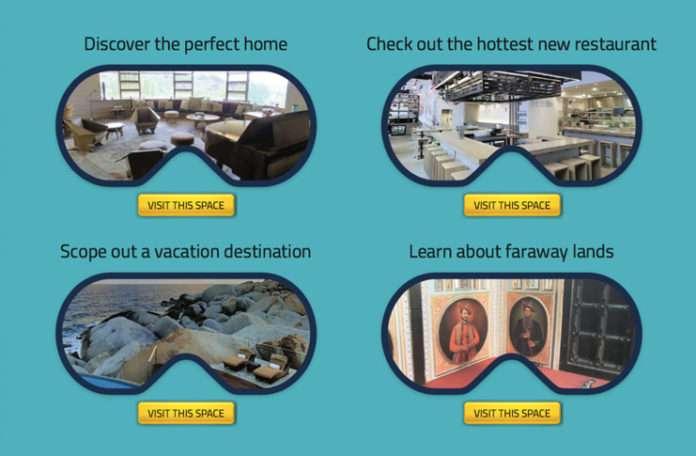 Uygulama ile ünlülerin evlerini veya turistik mekanları ziyaret edebilirsiniz
