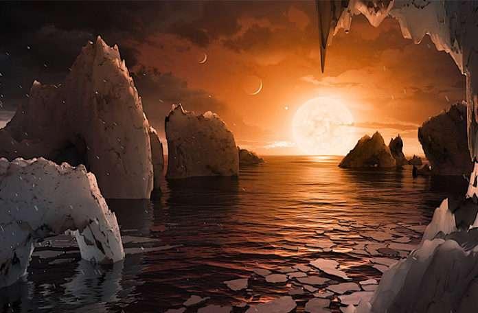 Bu gezegenler sadece 40 milyon ışık yılı uzaklıkta ve üçü yaşanabilir 'Goldilocks Bölgesi'nde