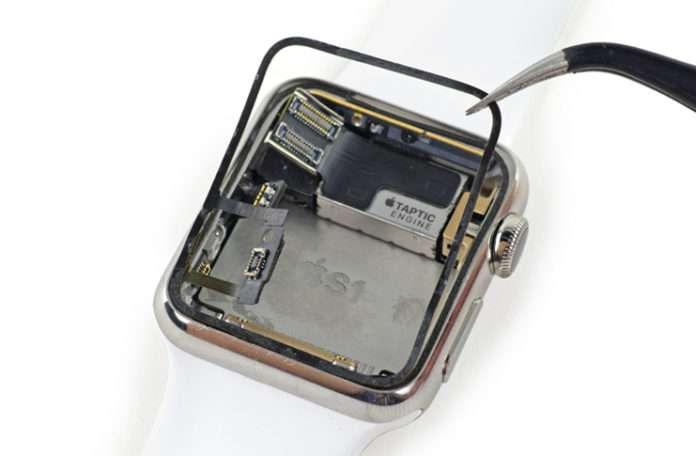 Apple Watch force touch sensörü nasıl değiştirilir?
