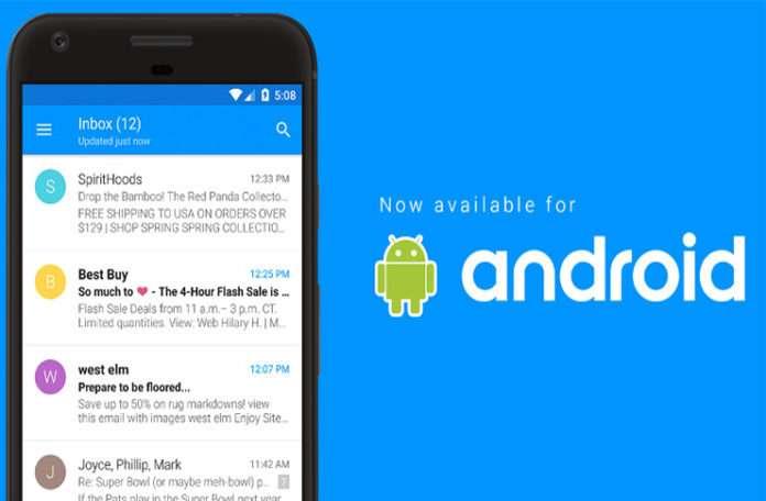 iOS'un beğenilen email uygulaması Android'e geldi!