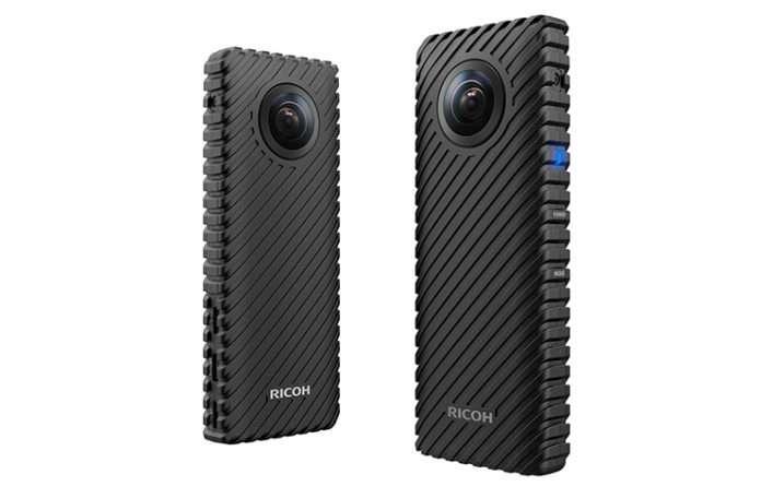 Ricoh'tan 360 derece küresel çekim yapan yeni model kamera sürprizi