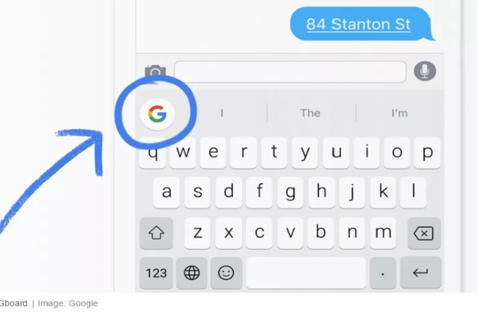 Google Gboard telefon klavyesi