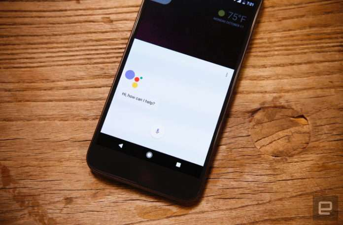 Android cihazlarda Google Assistant