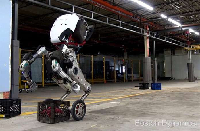 Boston Dynamics'in yeni robotu 'Handle' engel tanımıyor