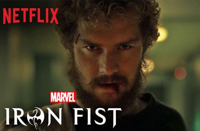 """Netflix'in kahraman dizilerine bir yenisi; """"Iron Fist"""""""
