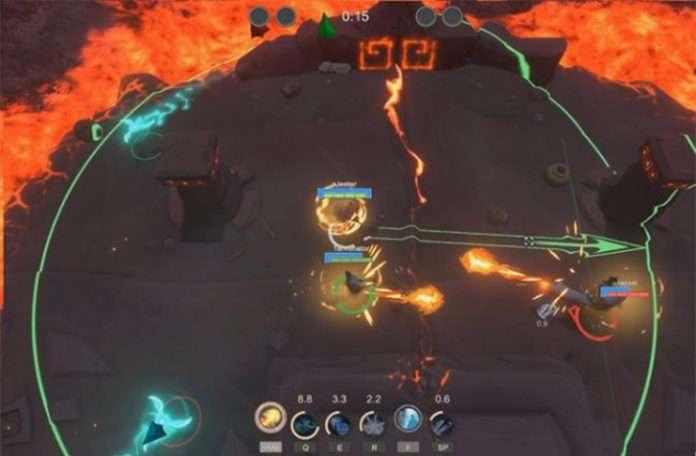 Oyun DOTA'dan çok daha aksiyonlu ve hızlı