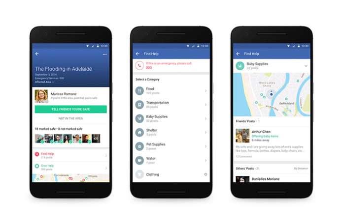 Facebook'a gelen yeni özellik Safety Check size acil/afet durumlarında yardım bulacak