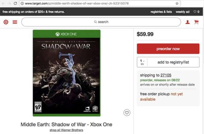 Online satış yapan sitede beliren bir oyun ipucu vermiş oldu