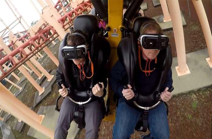 VR gözlüklerle Roller Coaster keyfi kısa sürdü