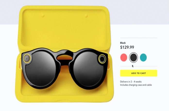 Spectacles'ın Amerika'da online satışına başlandı