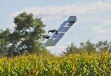 Drone Helikopter modundan uçak moduna geçebiliyor