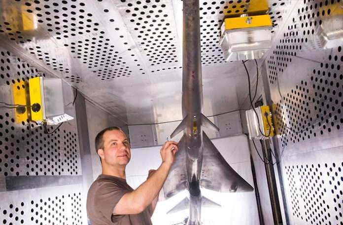 NASA süpersonik jeti için rüzgar tüneli testlerine başladı