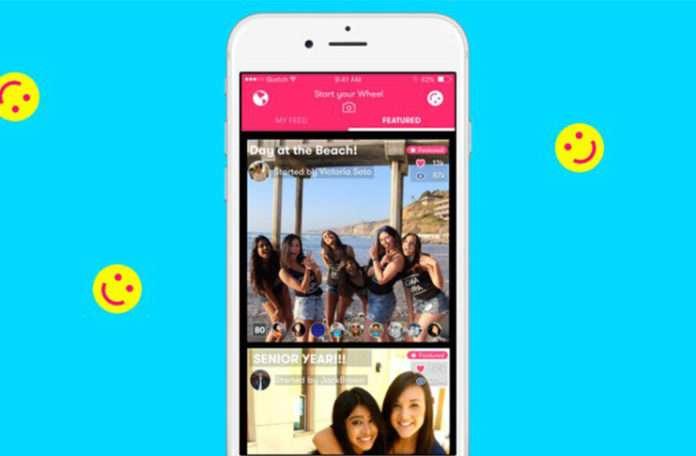 Satın aldığı Wheel uygulamasıyla Snapchat tarzı paylaşımlar yapılabilecek