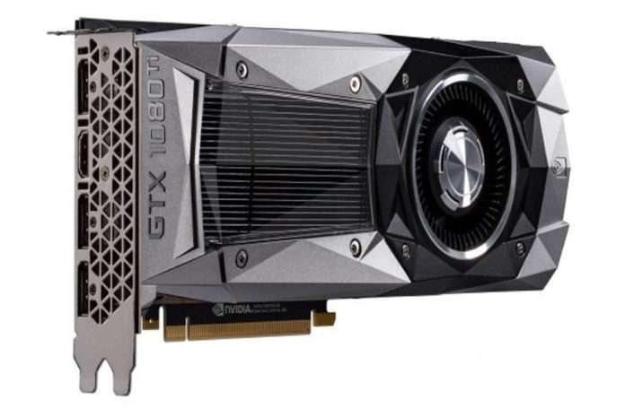 Nvidia Geforce GTX 1080ti büyük işler başaracak